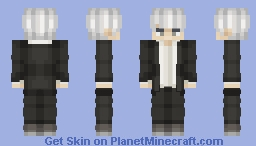 Yu Narukami - Megami Tensei / Request Minecraft Skin