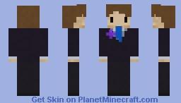 Tuxedo Me Minecraft Skin