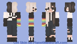 regifted thrifted youth - ce Minecraft Skin