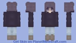 Purple Pastel Girl💜 Minecraft Skin