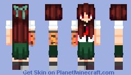 Utsuho Reiuji ((Touhou 11: Subterranean Animism )) Minecraft Skin