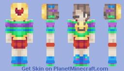 I wish to be happy || Wish Contest Minecraft Skin