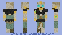 The Gold Hoarder - Sea of Thieves Minecraft Skin