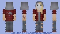 Dead by Daylight : The Legion Julie Minecraft Skin