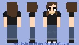 celextine [black shirt] Minecraft Skin