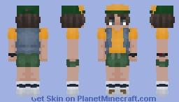 Dustin Henderson   Stranger Things   Season 3 Minecraft Skin