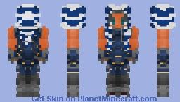 Ahsoka Tano - Mandalorian Gear || Star Wars Inspired Skin Minecraft Skin