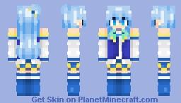 ~| Aqua |~ Minecraft Skin