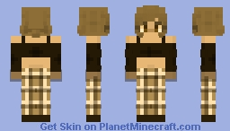 I was just inspired I don't know. Minecraft Skin