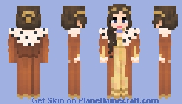 Autumn Breeze, Annavei Sterlington Minecraft Skin