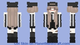 Black/White ♥ Minecraft Skin