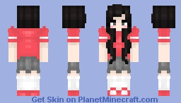Olivia Hye from the Kpop band Loona Minecraft Skin