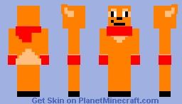 female flareon Minecraft Skin