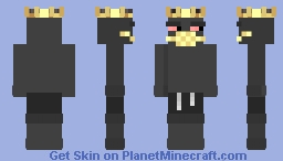 Corona King Minecraft Skin