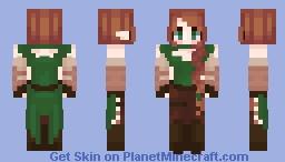 Aida Keyris - oc Minecraft Skin
