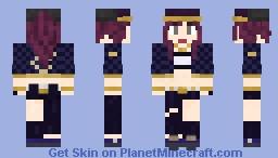 k/DA Akali Minecraft Skin