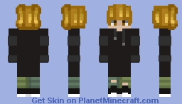 Blond Guy Minecraft Skin