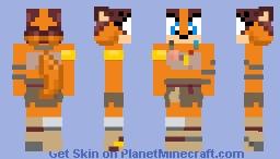 Sticks the Badger Minecraft Skin