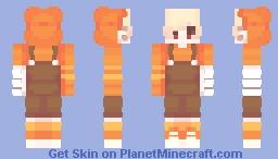 ~ 𝕆𝕣𝕒𝕟𝕘𝕖 𝕍𝕚𝕓𝕖𝕤 ~ Minecraft Skin