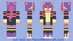 stripes - reshade contest Minecraft Skin