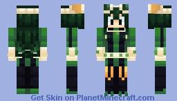 Froppy (tsuyu asui) Minecraft Skin
