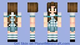 Dorothy Gale (Oz, No ruby slippers) Minecraft Skin