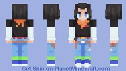 Android 17 (alt. version in desc.) Minecraft Skin