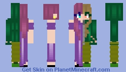 Idk y I made this Minecraft Skin