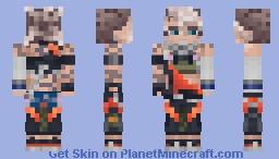 True Damage Akali - League of Legends Minecraft Skin