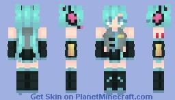 | Miku, Miku. You Can Call Me, Miku. | ~* Marma *~ Minecraft Skin