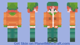 Kahl (kyle broflovski) south park Minecraft Skin