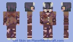 Auburn- Rce Minecraft Skin