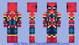 Spider-Man/Iron Spider | MCU | Peter Parker Minecraft Skin