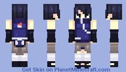 Izumo Uchiha Minecraft Skin