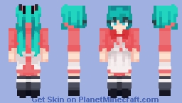 """And with a plunge you'll all go back, my friends, goodbye!"" Minecraft Skin"