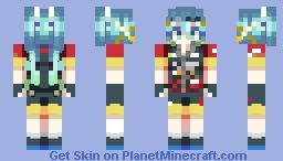 PEDAL with the Punches Minecraft Skin