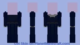 Karmen Blue Dress Minecraft Skin