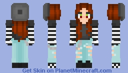 E-Girl Minecraft Skin