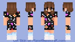 //Eleven // Stranger things //season 3// Minecraft Skin