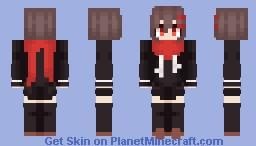 Kagerou Project / Ayano Tateyama but it's a redo woah Minecraft Skin