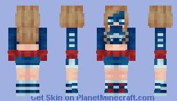 Stargirl   DC   Courtney Whitmore Minecraft Skin