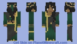 [LOTC] Emerald Naranji Minecraft Skin