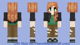 Alex Casual Wear Minecraft Skin