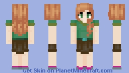 Alex Semi-Formal Wear Minecraft Skin