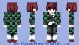 Tanjiro Kamado V.2 Minecraft Skin