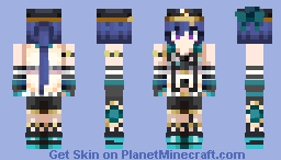 No one tries to make a miracle happen from the start Minecraft Skin