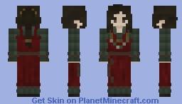 Saxon Women Minecraft Skin