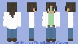 trust me, i'm a scoientist Minecraft Skin