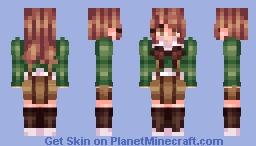 chihiro fujisaki -ce Minecraft Skin
