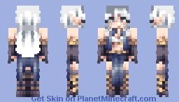 [FRP] Cornflower Sorceress ; Request Minecraft Skin